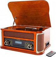 NEW MAJESTIC Giradischi USB Bluetooth 334578 giri CD Radio  Encoding TT 44BT