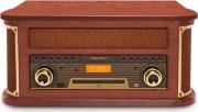 NEW MAJESTIC TT 47 DAB Giradischi Vintage 334578 Bluetooth Radio DAB+ 110547 TT-47 DAB
