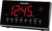 NEW MAJESTIC RS 131 Radiosveglia digitale FM Temperatura SnoozeAllarme RS-131 109131