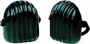 Comitel 021A Ginocchiere da Lavoro in Poliuterano con elastici colore Nero