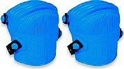 Comitel Ginocchiere da Lavoro in PVC a Soffietto spessore 6 mm colore Blu 021T