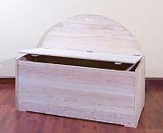 NO BRAND Cassapanca in legno Baule Panca Contenitore 100x50x4080h cm - Magnum