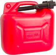 NUOVA PLASTICA ADRIATICA TANICA 10 LT. Tanica Benzina Carburante Omologata 10 Litri - 10 LT.