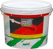Naici NP5 KG.20 ROS.FI Guaina Liquida Impermeabilizzante Monocomponente colore Rosso 20 Kg NP5