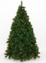 Natale 2019 ALASKA CM.150-734 Albero di Natale Realistico 150 cm Artificiale 734 rami Verde Alaska