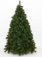 Natale 2019 ALASKA CM.180-1034 Albero di Natale Realistico 180 cm Artificiale 1034 rami Verde Alaska