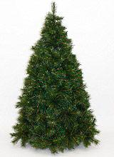 Natale 2016 Albero di Natale Realistico 210 cm Artificiale 1506 rami Verde Alaska