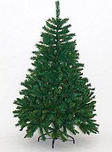 Natale 2016 Albero di Natale Realistico 150 cm Artificiale 663 rami Verde Alpino