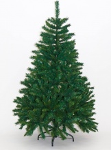 Natale 2016 Albero di Natale Realistico 180 cm Artificiale 1085 rami Verde Alpino