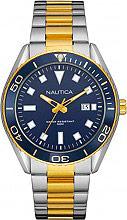 Nautica Orologio Uomo Cronografo cassa e Cinturino Acciaio Oro NAD13510G