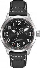 Nautica Orologio Uomo Analogico Cronografo Acciaio e Cinturino Pelle NAI10004G