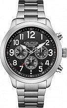 Nautica Orologio Uomo Analogico Cronografo cassa e Cinturino Acciaio NAI16515G