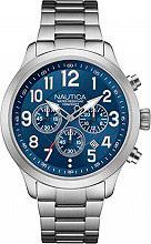 Nautica Orologio Uomo Analogico Cronografo cassa e Cinturino Acciaio NAI16516G