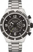 Nautica Orologio Uomo Analogico Cronografo cassa e Cinturino Acciaio NAI21506G