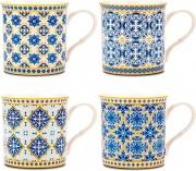Nava 10-172-100 Tazza Mug Arabesque in Porcellana
