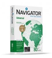 Navigator NUN0800463 Risma Carta A3 5 Risme da 500 Fogli Seta Bianco UNIVERSAL