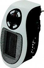 NBrand 2191217 Termoventilatore a parete Mini Stufa elettrica 500W Timer  Pluggy