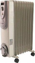 Kooper 2191366 Termosifone Elettrico ad Olio 9 Elementi Stufa Portatile 2000W
