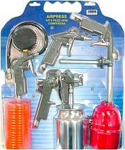 NBrand W2000A5-S Kit aria compressa Manometro + Aerografo + Pistola nafta + Tubo