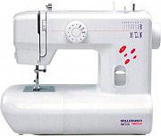 Necchi MA10 Macchina da Cucire automatica 6 Punti 16 Funzioni di Cucito