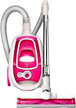Necchi Aspirapolvere a Traino senza Sacco 1600 Watt Bianco  Rosa NH9031