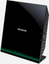 Netgear D6100-100PES Modem Wifi Router Wireless ADSL2+ Dual Band 3 Porte