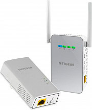 Netgear PLW1000-100PES Powerline AV1000 Wireless AC Dual Band 2 Porte