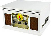 NEW MAJESTIC 110546 Giradischi 334578 giri Bluetooth Radio FM MP3 Aux USB TT-46 BT