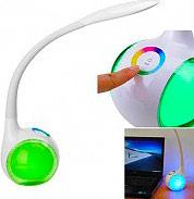 NEW MAJESTIC Lampada da Tavolo Touch LED Multicolore 3 Livelli 120405 LL-405