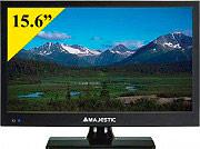 """NEW MAJESTIC 104215 TV LED 15.6"""" Full HD DVB T2S2 12 Volt TVD-215 S2 LED MP09 ITA"""