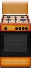 Nikkei SN554BG Cucina a gas con forno a gas 4 Fuochi 50x50 cm Terra di Francia