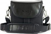 Nikon 931950 Borsa Custodia Universale Fotocamere Coolpix Serie P in Pelle CS-P08