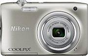 Nikon Fotocamera digitale compatta 20 Mpx CCD 5x Video HD Silver - Coolpix A100