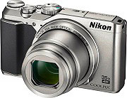 Nikon Fotocamera Digitale 20.3Mpx CMOS 35x70x Video 4K WiFi Silver Coolpix A900