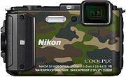 Nikon Fotocamera digitale subacquea 16Mpx Zoom 5x Wi-fi Camouflage COOLPIX AW130