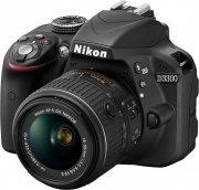 Nikon Fotocamera Reflex 24Mpx CMOS Full HD Wi-Fi + 18-55 VR II + SD 8 GB - D3300