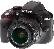 Nikon Fotocamera Reflex Digitale 24.2 Mpx Full HD+Obiettivo 18-55 + 70-300 D3300