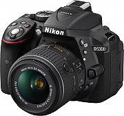 Nikon Fotocamera digitale reflex 24.2 Mpx Wi-Fi + Obiettivo 18:55VR SD 8GB D5300