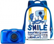 Nikon NCW161 Fotocamera Digitale Compatta 13 mpx  W150 Blue