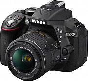 Nikon Fotocamera Digitale Reflex 24Mpx CMOS Wi-Fi D5300 AF-P 18-55 VRII SD 8GB