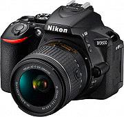 Nikon ND5610 Fotocamera Reflex 24 Mpx Bluetooth + Obiettivo AF-P DX 18-55VR D5600 Kit
