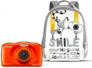 Nikon W150 Orange NCW162 Fotocamera Digitale Compatta 13 mpx