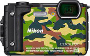 Nikon W300 Fotocamera Digitale 16Mpx CMOS Impermeabile 4K GPS Campuflage  Coolpix