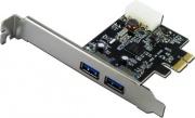 Nilox 10NX0512U3001 Scheda PCI Express ADAPTER 2 USB 3.0 PORTS