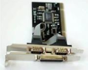 Nilox 10NXAD0505002 Adattatore Scheda Parallela + 2 Seriali PCI 2.1