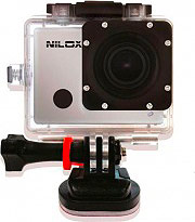 Nilox Videocamera Sport Action Cam Full HD CMOS 13NXAKFHCO007 F-60 Reloaded