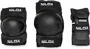 Nilox Protezioni Bambini Ginocchiere Polsiere Gomitiere Doc Protection Kit Junior