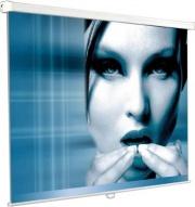 Nilox AMLI042843 Telo manuale per videoproiezione A soffitto Ignifugo 180x180