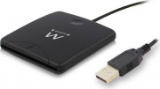 Nilox CEEW1052 Lettore di Schede Card Reader USB 2.0 Nero EW1052
