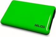 Nilox DH0002GA Box Case Esterno per Hard Disk 2.5 USB 3.0 colore Verde Mela